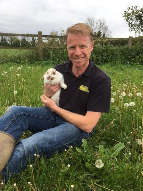 William with Rabbit